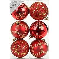 Suchergebnis Auf Amazon De Fur 6 Weihnachtskugeln Rot 8 Cm Kuche