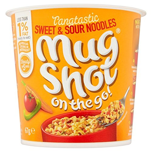 Mug Shot On The Go Sweet & Spicy Noodle 67g