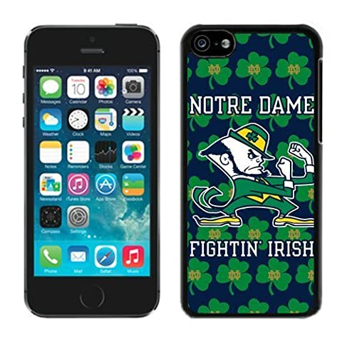 Apple iPhone 5C Cover Case NCAA-INDEPENDENTS Notre Dame Fighting Irish 15 Plastic iPhone 5c 5th Generation (Irish Ncaa)