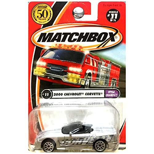 fb9151e689 Matchbox 2002 - 11/75 Style Champs 2000 Chevrolet Corvette 50 Years 1: 64