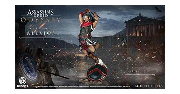 Assassin\'s Creed Odyssey Alexios Figur: Amazon.de: Games