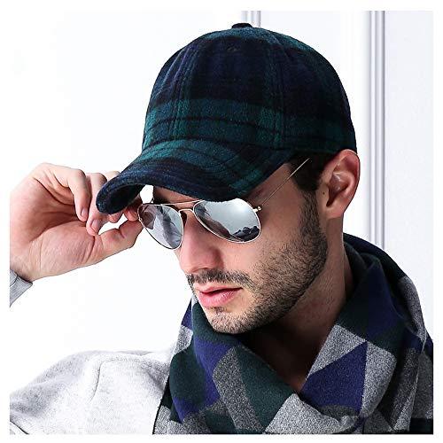 Klassischer Baseball-Kappen-Stil Sport-Casual Sun Hut,Green