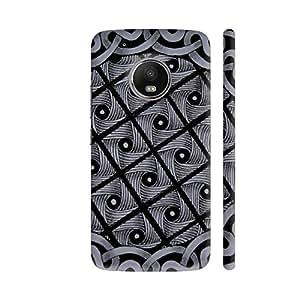 Colorpur Twisted Zentangle Artwork On Motorola Moto G5 Plus Cover (Designer Mobile Back Case)   Artist: Vandana Krishna