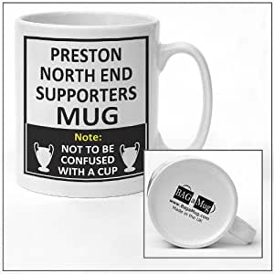 Preston North End football club supporters rival team joke