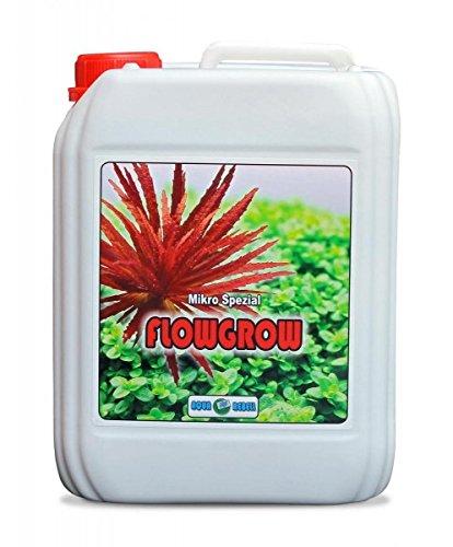 Mikro Spezial Flowgrow 5L I Wasserpflanzen-Dünger zur optimalen Versorgung von Wasserpflanzen im Aquarium -