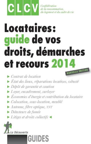 LOCATAIRES GUIDE VOS DROITS 14