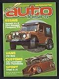 AUTO LOISIRS [No 26] du 01/05/1981 - ESSAIS - SUZUKI 4X4 - 504 DANGEL - PEUGEOT P4 - VANS VW BUS - CUSTOMS VW LOWRIDER 203 FAMILIALE - SPORT - TRIAL 4X4