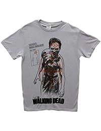 The Walking Dead: Walking Target Homme T-Shirt | M