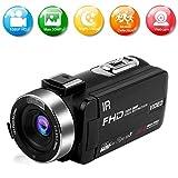 Videocamera Videocamere Full HD 1080P 30FPS 30.0MP Videocamera Digitale IR Visione Notturna 16X Zoom...