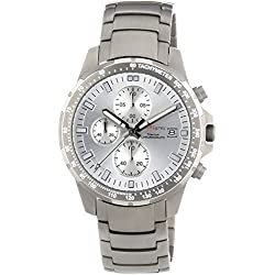Pure Grey Titan Men's Chronograph 1779,9091