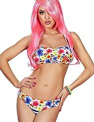Bikini bandeau 2 pièces Miki