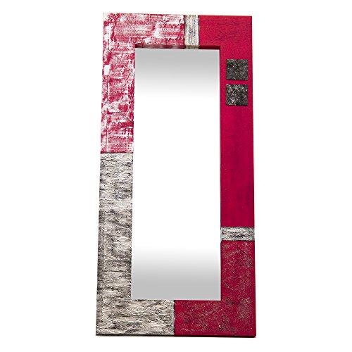 Lohoart L-1150-1 - Espejo Sobre Lienzo Pintado Artesanal