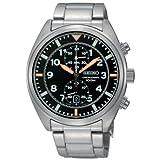 Seiko Herren - Armbanduhr Chronograph Quarz SNN235P1