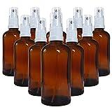 Braunglasflaschen kaufen: 10 x 100 ml Braunglas -  Sprühflaschen kaufen! Mit Pumpzerstäuber!