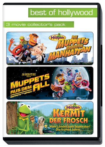 Muppets erobern Manhattan / Muppets aus dem All / Kermit - Best of Hollywood (3 DVDs)