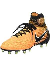 huge discount 469ef 19902 Nike Jr Magista Obra II FG, Scarpe da Calcio Unisex Bambini, Arancione  (Laser