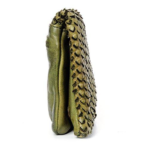 Missisipi pochette Vert Cendré