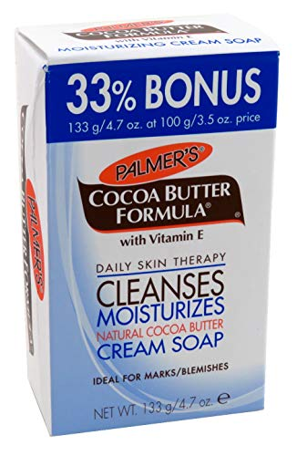 Palmer's Cocoa Butter Cleanses Moist. Cream Soap 100gr :4555 - Palmers-butter Seife