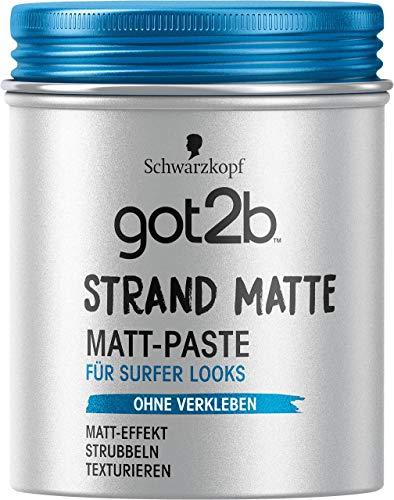 got2b Paste strand matte surfer look, Matt, 100 ml