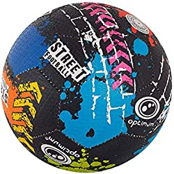 OPTIMUM Optimal Street Football Ballon, Mixte, Street, Multicolore, Taille