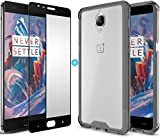 Case U® OnePlus 3 Case + Free Full Coverage Edge-to-Edge Tempered Glass, CASE U Clear Transparent TPU+PC Bumper Back Cover for OnePlus 3