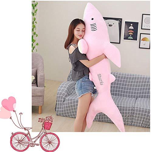 Almohadas Decorativas Plush Toy Shark 50/70/80/100 cm...