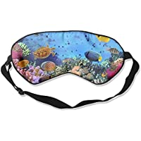 Comfortable Sleep Eyes Masks Ocean World Pattern Sleeping Mask For Travelling, Night Noon Nap, Mediation Or Yoga preisvergleich bei billige-tabletten.eu