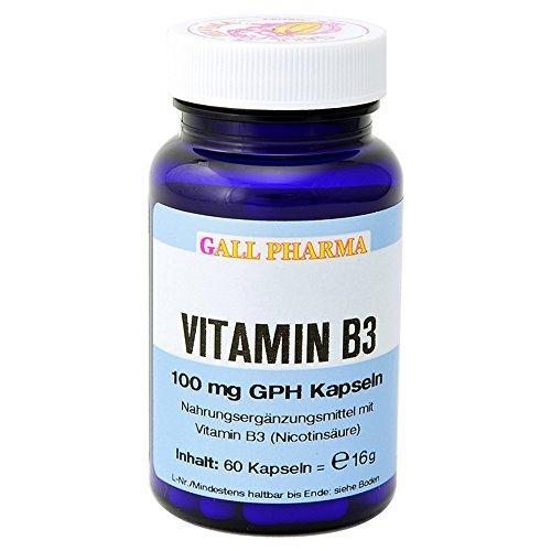 Gall Pharma Vitamin B3 100 mg GPH Kapseln, 1er Pack (1 x 16 g)