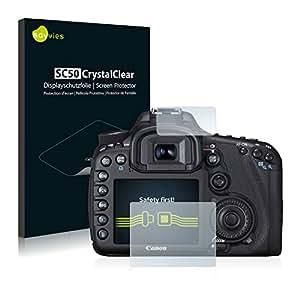 Savvies SC50 Screen Protector for Canon EOS 7D