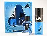adidas Ice Dive Herren Geschenk Set Deo + Edt