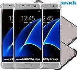 iBarbe Galaxy S7CLEAR Case, Slim Fit Heavy Duty Schutz kratzfest TPU Bumper Case Cover für Samsung Galaxy S7Edge nicht für S7, 5P 3Clear+2gray s7edge Case, samsung galaxy s7 edge phone case cartoon