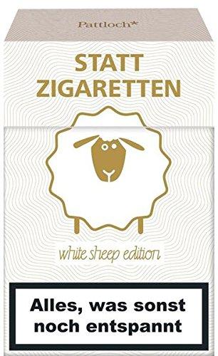 Preisvergleich Produktbild Statt Zigaretten: Alles, was sonst noch entspannt (white sheep edition)