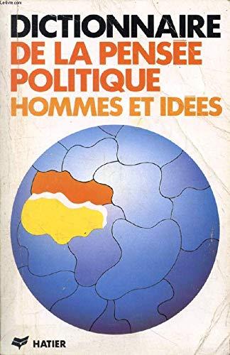 Dictionnaire de la pensee politique