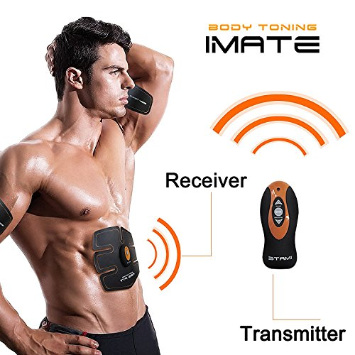 HiiLife Smart cámara Abdominales Unisex cinturón de electroestimulación Abdominal para Deporte perdre del Peso un Vientre Plano y Des abdos Bien dessinés