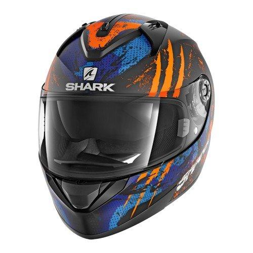 Shark Casco moto, modeloRidill Threezy Mat; color