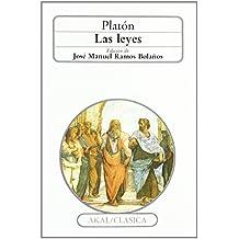 Las leyes (Clásica) de Platón (27 jul 1988) Tapa blanda