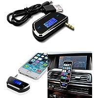 Gaddrt Bluetooth Car Kit Handsfree AUX Audio Music Receiver Player Hands Free Speaker