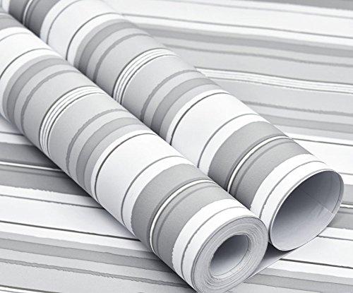 Selbstklebender folie,Karo streifen Tapete,Schälen und stick wandtattoo Aufkleber -H 60*500cm(24x197inch)