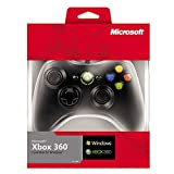 #1: Microsoft Xbox 360 Wired Controller GamePad For PC and Xbox 360