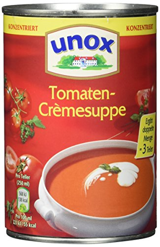 Unox  Konzentrat Tomaten-Crème Suppe 3 Teller (Tomaten-suppe)