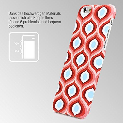 iPhone 6 / 6s Coque, Urcover Étui Mandala PC Rigide [Motiv Motiv 9] Téléphone Smartphone Apple iPhone 6 / 6s Housse Antichoc Case Motif 15