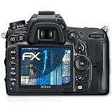 atFoliX Anti-choc Film Protecteur Nikon D7000 Film Protecteur - Set de 3 - FX-Shock-Clear