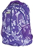 Lilac Flower Girls Womens Hi-Tec Rucksack School College Student Backpack Bag Holds A4