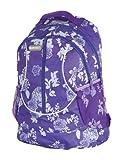 Lilac Flower Girls Womens Hi-Tec Rucksack School College Student Backpack Bag Holds A4