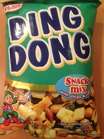 Ding Dong Snack Mix mit Chips & Curls 100g x5-Packs