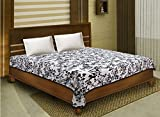 Bombay Dyeing Cotton Geometric Single Bed Dohar(3500, Black and White)