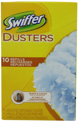 Swiffer Dusters Disposable Cleaning Dusters Refills Unscented 10 Count (Pack of 3) by (Disposable Refill)