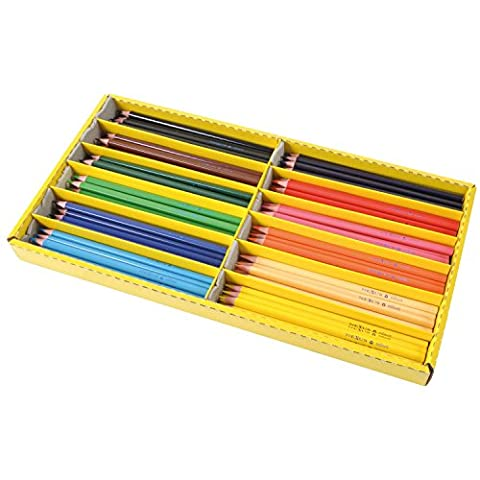 Eduplay 2401423,3mm dreikant fein Bleistift (Wachsmalstifte)