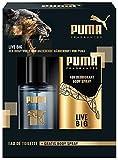 Puma Live Big Geschenkset (Body Spray 150 ml und Eau de Toilett 50 ml)