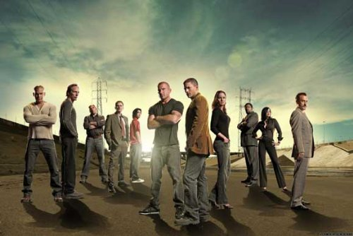 Click for larger image of Prison Break Poster TV B 27 x 40 In - 69cm x 102cm Dominic Purcell Wentworth Miller Robin Tunney Amaury Nolasco Marshall Allman Peter Stormare